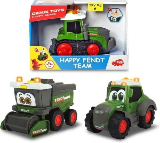 dickie traktor/kombajn  happy fendt 3812005